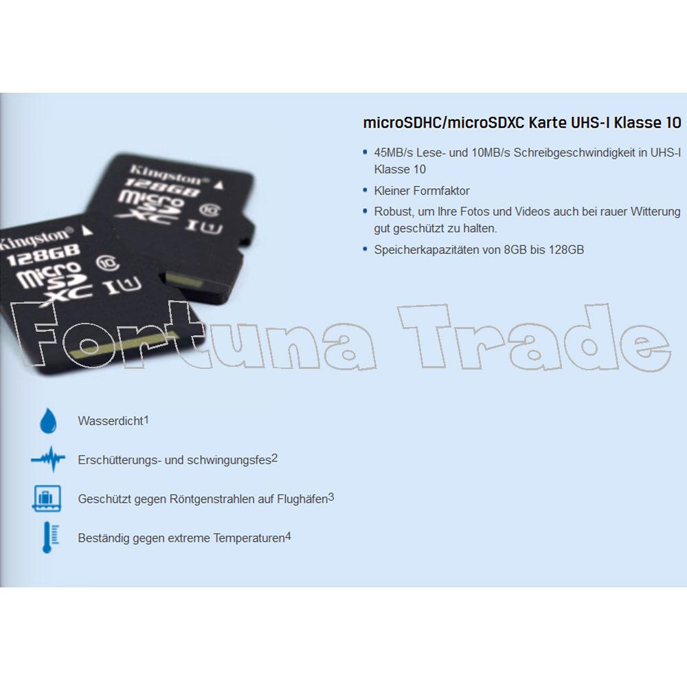 amazon mini sd karte 64gb kingston